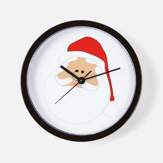 Christmas Santa Wall Clock