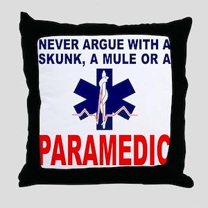 PARAMEDIC/EMT Throw Pillow