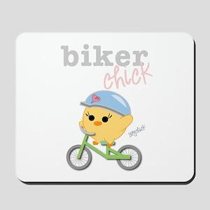 Biker Chick Mousepad