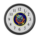 USS Caloosahatchee (AO 98) Large Wall Clock