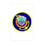 USS Caloosahatchee (AO 98) Rectangle Sticker 10 p