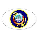 USS Caloosahatchee (AO 98) Oval Sticker (50 pk)