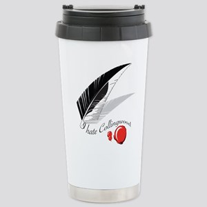 I Hate Collingwood Stainless Steel Travel Mug