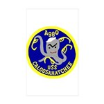 USS Caloosahatchee (AO 98) Rectangle Sticker 10 p