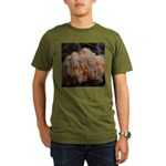 Coral Fungus Organic Men's T-Shirt (dark)