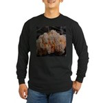 Coral Fungus Long Sleeve Dark T-Shirt