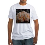 Coral Fungus Fitted T-Shirt