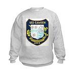 USS Camden (AOE 2) Kids Sweatshirt