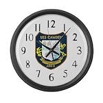 USS Camden (AOE 2) Large Wall Clock