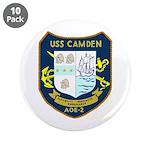 """USS Camden (AOE 2) 3.5"""" Button (10 pack)"""