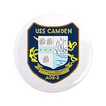 """USS Camden (AOE 2) 3.5"""" Button"""