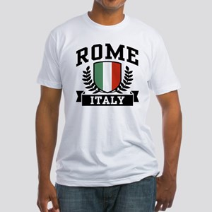 Rome Italy Fitted T-Shirt