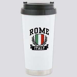 Rome Italy 16 oz Stainless Steel Travel Mug
