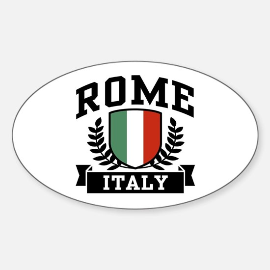 Rome Italy Sticker (Oval)