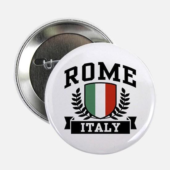 """Rome Italy 2.25"""" Button"""