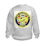 USS Milwaukee (AOR 2) Kids Sweatshirt