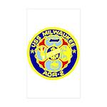 USS Milwaukee (AOR 2) Rectangle Sticker 10 pk)