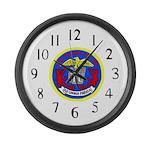USS Telfair (APA 210) Large Wall Clock