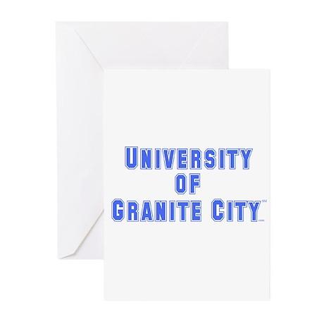 U of Granite City Greeting Cards (Pk of 20)