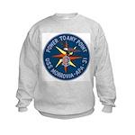 USS Monrovia (APA 31) Kids Sweatshirt
