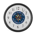USS Monrovia (APA 31) Large Wall Clock