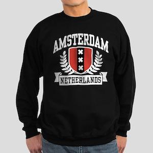 Amsterdam Netherlands Sweatshirt (dark)