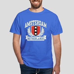 Amsterdam Netherlands Dark T-Shirt