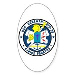 USS Benewah (APB 35) Oval Sticker (10 pk)