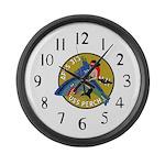 USS Perch (APSS 313) Large Wall Clock