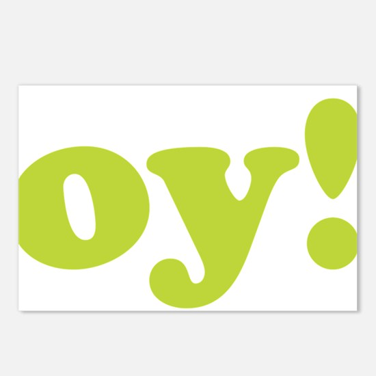 oy! Postcards (Package of 8)