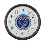 USS Hector (AR 7) Large Wall Clock