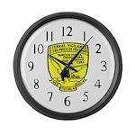 USS Tutuila (ARG 4) Large Wall Clock