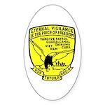 USS Tutuila (ARG 4) Oval Sticker (50 pk)