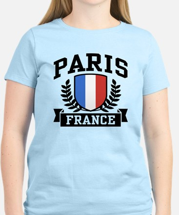 Paris France Women's Light T-Shirt