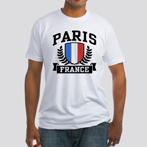 Paris France Fitted T-Shirt