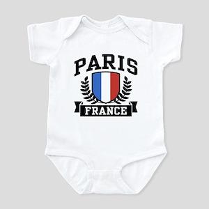 Paris France Infant Bodysuit