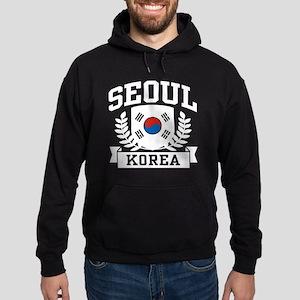 Seoul Korea Hoodie (dark)