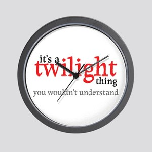 Twilight Thing Wall Clock