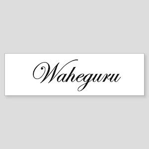 Waheguru Bumper Sticker