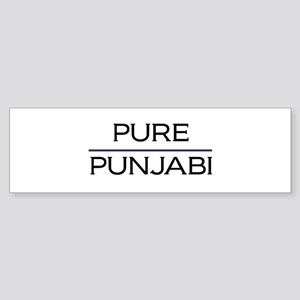 Pure Punjabi Bumper Sticker