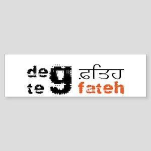 Deg Teg Fateh Bumper Sticker