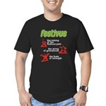 FESTIVUS™! Men's Fitted T-Shirt (dark)