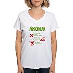 FESTIVUS™! Women's V-Neck T-Shirt