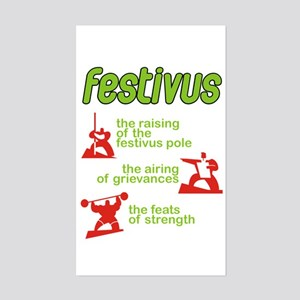 FESTIVUS™! Rectangle Sticker