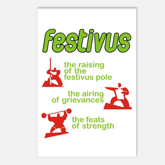 FESTIVUS™! Postcards (Package of 8)
