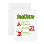 FESTIVUS™! Greeting Cards (Pk of 10)