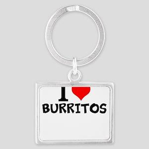 I Love Burritos Keychains