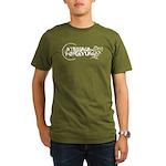 Okologisk myrk t-shirt til menn