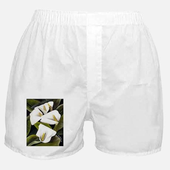 Calla Lily Boxer Shorts