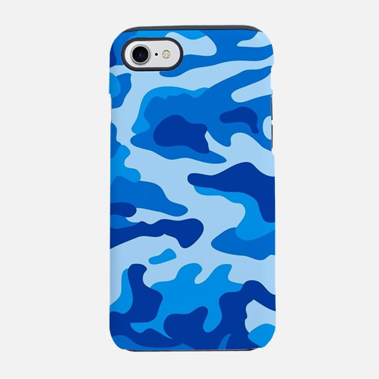 Sea camouflage iPhone 7 Tough Case